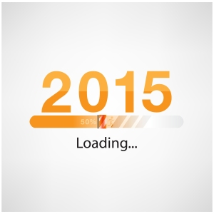 New Year 2015 Loading Background,happy New Year Template